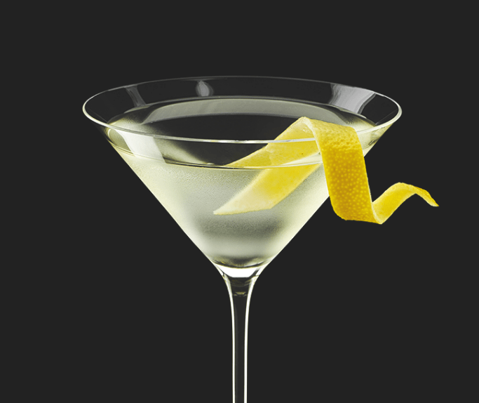 drink dry martini